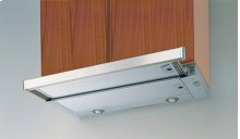 "24"" Stainless Cristal Slideout Hood 300 CFM"