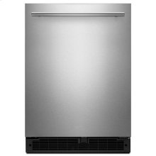 Whirlpool® 24-inch Wide Undercounter Refrigerator with Towel Bar Handle - 5.1 cu. ft. - Fingerprint Resistant Stainless Steel