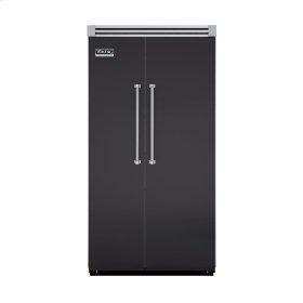 "Graphite Gray 42"" Quiet Cool™ Side-by-Side Refrigerator/Freezer - VISB Tru-Flush™ (42"" wide)"