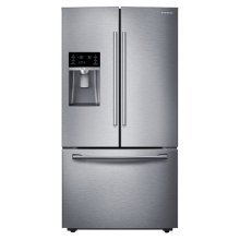 """36"""" Wide, 28 cu. ft. Capacity French Door Refrigerator with CoolSelect Pantry (Stainless Steel)"""