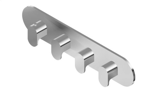 Ametis M-Series Valve Horizontal Trim with Four Handles