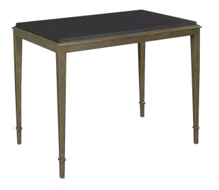 Fyn Side Table Base with Beeswing Primavera Wood Top