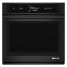 """Black Floating Glass 30"""" Single Wall Oven with V2 Vertical Dual-Fan Convection System Product Image"""