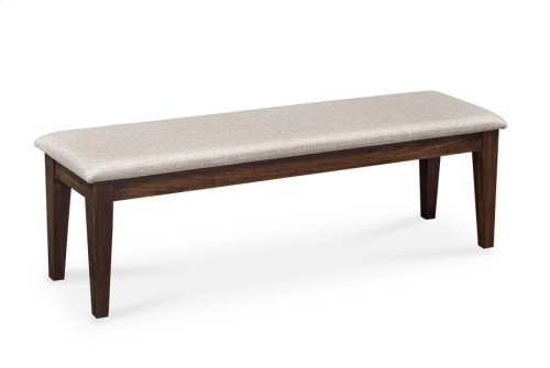 """Claire Bench, Claire Bench, 54""""w, Fabric Seat"""