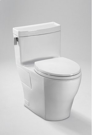 Cotton Legato One-Piece High-Efficiency Toilet, 1.28GPF