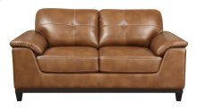 Loveseat Chestnut Pu