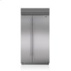 "Subzero 42"" Classic Side-By-Side Refrigerator/freezer With Internal Dispenser"