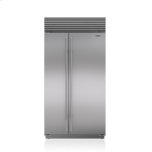 "SUB-ZERO42"" Classic Side-by-Side Refrigerator/Freezer with Internal Dispenser"