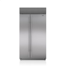 "42"" Classic Side-by-Side Refrigerator/Freezer with Internal Dispenser"