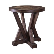 Pieceworks Round Lamp Table