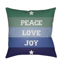 "Peace Love Joy HDY-078 20"" x 20"""