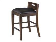 Counter Chair with Upholstered Seat
