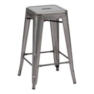 Marius Counter Stool Gunmetal Product Image