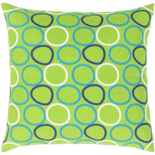 "Miranda MRA-001 18"" x 18"" Pillow Shell with Polyester Insert"