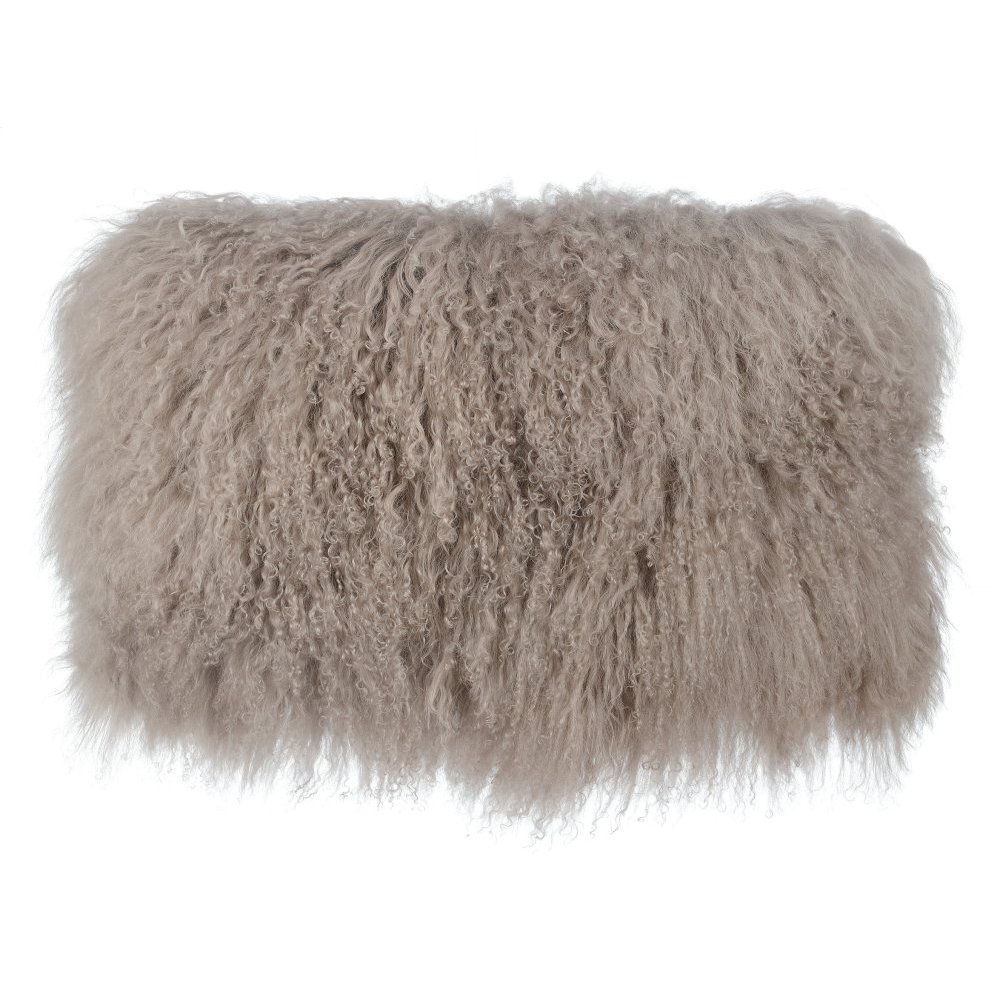 Tibetan Sheep Sandy Brown Long Pillow
