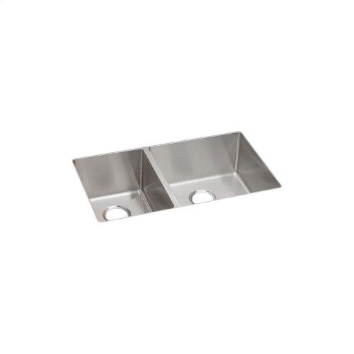 "Elkay Crosstown Stainless Steel 31-1/2"" x 18-1/2"" x 9"", 40/60 Double Bowl Undermount Sink"