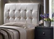 Lusso King Headboard - White