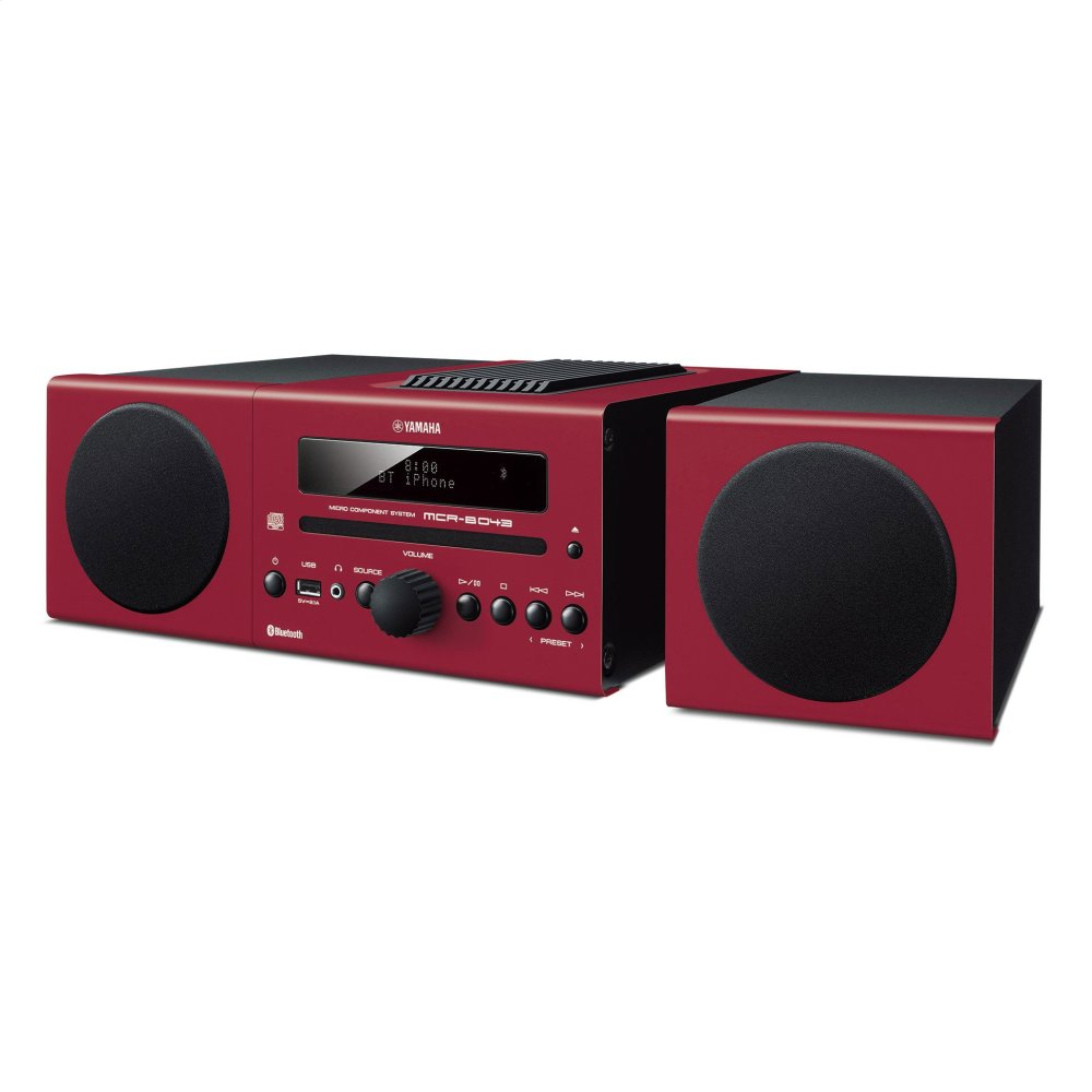 MCR-B043 Red Micro Component System