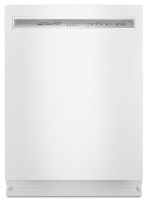 46 DBA Dishwasher with ProWash Cycle and PrintShield Finish, Front Control - White