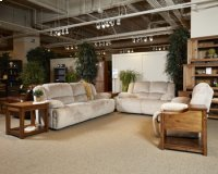 Toletta Reclining Power Loveseat - Granite Collection Product Image