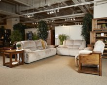 Toletta Reclining Power Loveseat - Granite Collection
