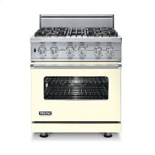 "30"" Custom Sealed Burner Dual Fuel Range, Propane Gas, No Brass Accent"