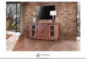 "60"" TV Stand w/4 Doors & Shelves"