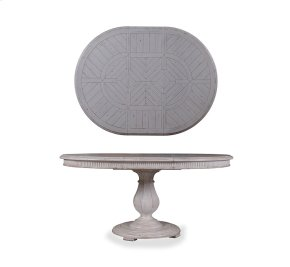 Collection One Keaton Round Dining Table - Vintage Linen