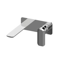 Sento Wall-Mounted Lavatory Faucet with Single Handle