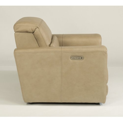 Omega Power Recliner with Power Headrest