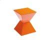 Rocco End Table - Orange