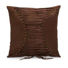 Corset Back Square Pillow