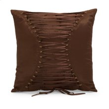 Corset Back Square Pillow