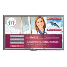 "55"" class (54.5"" diagonal) Hospital Grade Pro:Centric SMART Dual Tuner with Integrated Pro:Idiom and b -LAN"