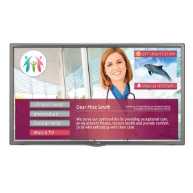 "32"" class (31.51"" diagonal) Hospital Grade Pro:Centric SMART Dual Tuner with Integrated Pro:idiom®"
