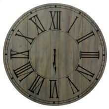 Natural Wood Clock  40in X 40in