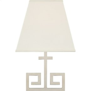 Visual Comfort AH2224PN-PL Alexa Hampton Kate 1 Light 7 inch Polished Nickel Wall Sconce Wall Light