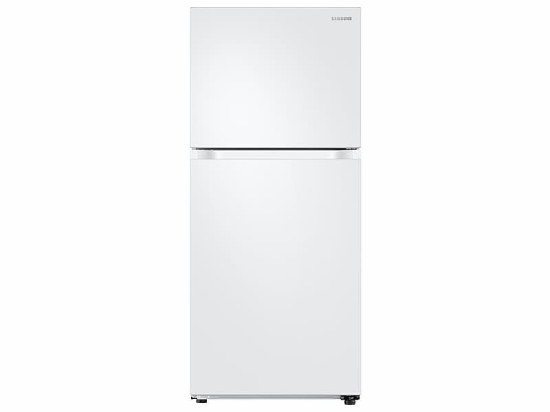 Samsung Appliances18 Cu. Ft. Top Freezer Refrigerator With Flexzone And Ice Maker In White