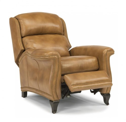 Sting Ray Leather or Fabric Power High-Leg Recliner