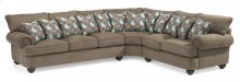Patterson Fabric Sectional without Nailhead Trim