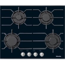 KM 3010 G Gas cooktop with 4 burners