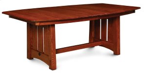 "McCoy Trestle Table, 32"" Butterfly Leaf"