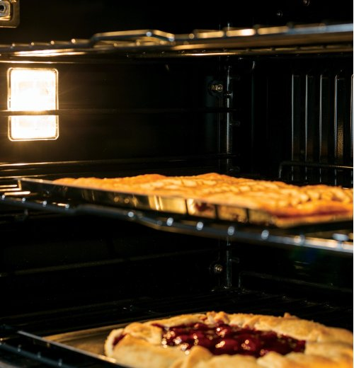 "GE Profile™ Series 27"" Built-In Double Convection Wall Oven"