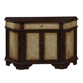 94089  1 Drawer, 4 Door Credenza