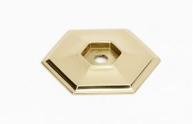 Nicole Backplate A425 - Polished Brass