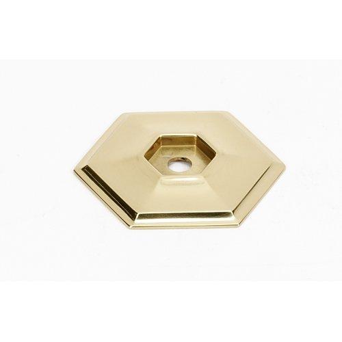 Nicole Backplate A425 - Polished Brass