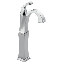 Chrome Single Handle Vessel Lavatory Faucet