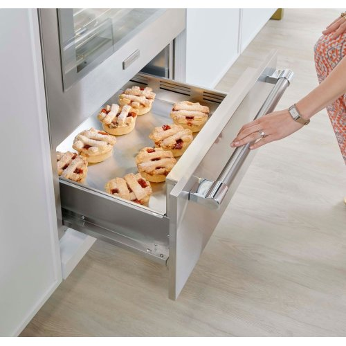 30-Inch Traditional Warming Drawer with Custom Panel Ready