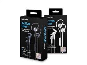 Level Active + In-Ear Headphones, White