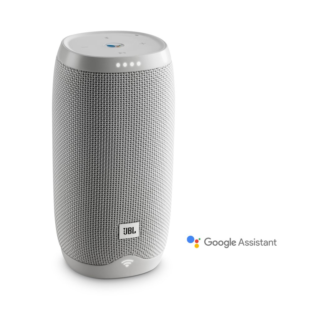 JBL Link 10 Voice-activated portable speaker  WHITE